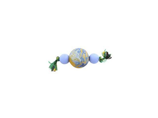 Sum-Plast Гантель ароматизированная плавающая - игрушка для собак