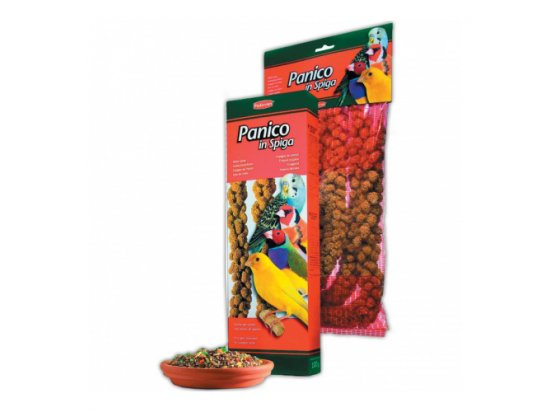 Padovan (Падован) Panico in spiga - Гроздья проса для канареек, волнистых попугайчиков и экзотических птиц, 100 г