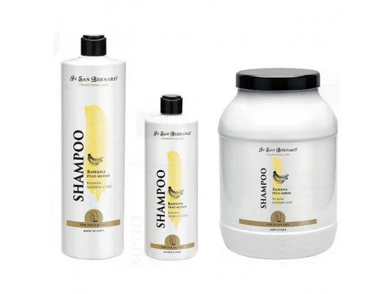 Iv San Bernard (Ив Сен Бернар) BANANA Shampoo Шампунь для шерсти средней длины БАНАН