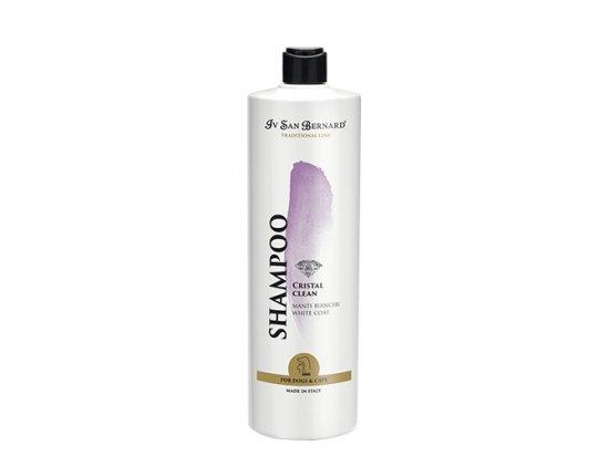 Iv San Bernard (Ив Сен Бернар) CRISTAL CLEAN Shampoo - Шампунь для уничтожения желтых и бурых пятен на шерсти животных КРИСТАЛ КЛИН