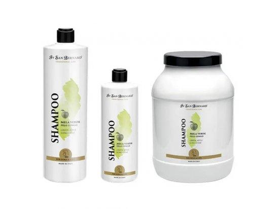 Iv San Bernard (Ив Сен Бернар) GREEN APPLE Shampoo Шампунь для длинной шерсти ЗЕЛЕНОЕ ЯБЛОКО