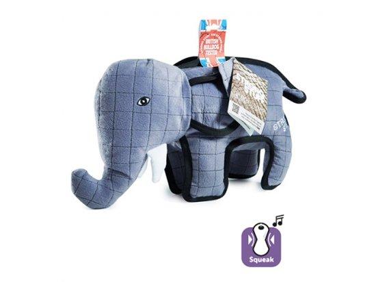 Flamingo STRONG ELEPHANT мягкая суперпрочная игрушка для собак СЛОН