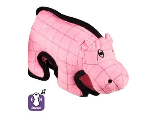 Flamingo STRONG HIPPO мягкая суперпрочная игрушка для собак ГИППО