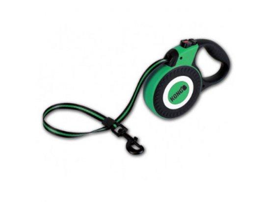 Kong REFLECT LARGE рулетка для больших пород собак со светоотражателями весом до 50 кг, 5 м