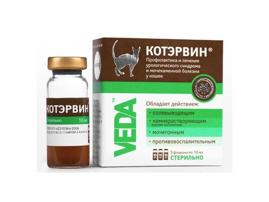 Veda КОТ ЭРВИН для лечения и профилактики мочекаменной болезни котов, 30 мл