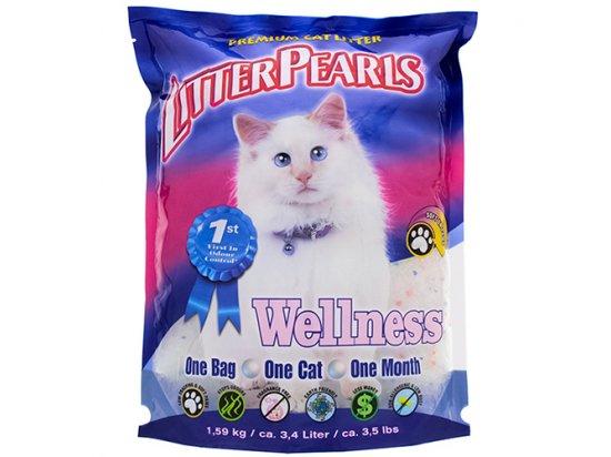 Litter Pearls ВЕЛЛНЕС (Wellness) кварцевый наполнитель для кошачьих туалетов 3,4 л (1,59 кг)