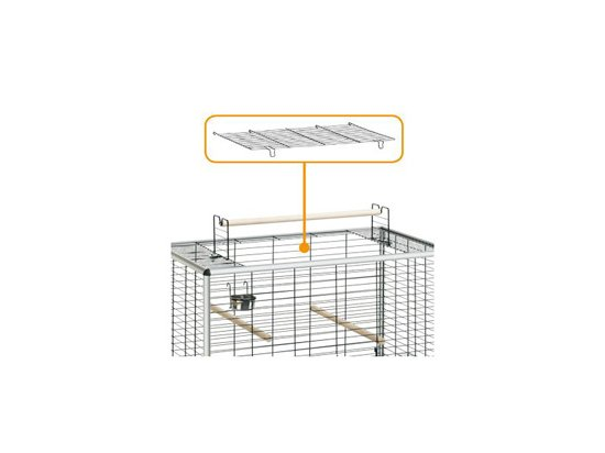 Ferplast (Ферпласт) MAX 4 - клетка для крупных птиц и попугаев