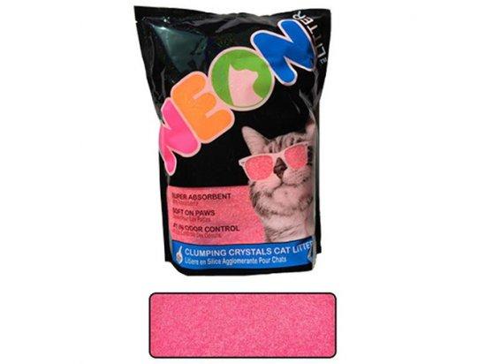 Neon Litter (Неон Литтер) CLUMP НЕОН (КЛАМП НЕОН) комкующийся кварцевый наполнитель, неоновый розовый, 1.81 кг (4 л)