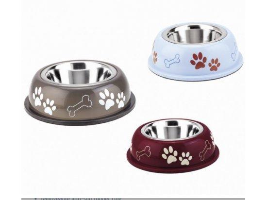 Nobby (Нобби) NICE DINER металлическая миска для собак в пластиковом футляре, 1 л (СКИДКА 20% - РАСПРОДАЖА)
