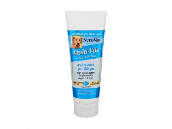 Nutri-Vet (Нутри-Вет) МУЛЬТИ-ВИТ ГЕЛЬ (Multi-Vite Gel) витаминный гель для собак 89 мл