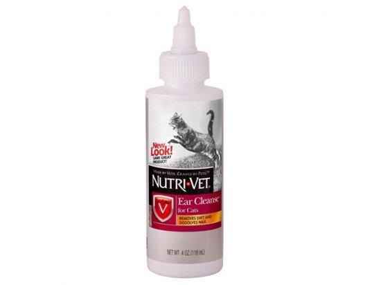 Nutri-Vet (Нутри-Вет) Ear Cleanse - ЧИСТЫЕ УШИ ушные капли для кошек, 118 мл