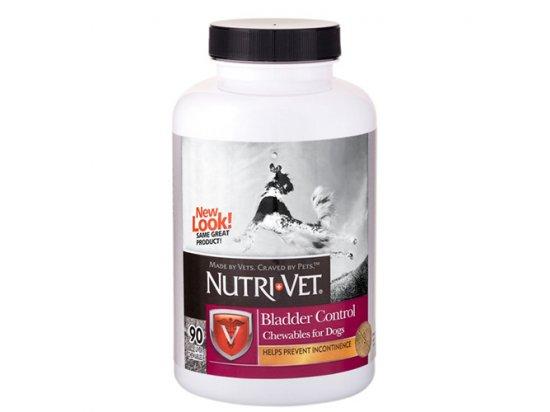 Nutri-Vet (Нутри Вет) BLADDER CONTROL CHEWABLES - КОНТРОЛЬ МОЧЕВОГО ПУЗЫРЯ комплекс от недержания мочи у собак, жевательные таблетки 90 табл