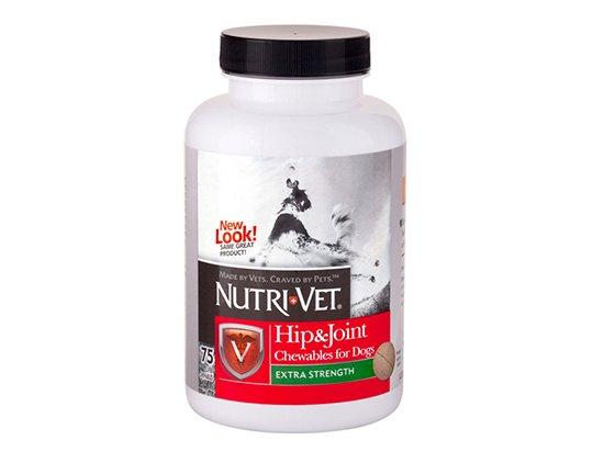Nutri-Vet (Нутри Вет) Hip & Joint EXTRA - СВЯЗКИ И СУСТАВЫ EXTRA глюкозамин хондроитин МСМ для собак (уровень 2)