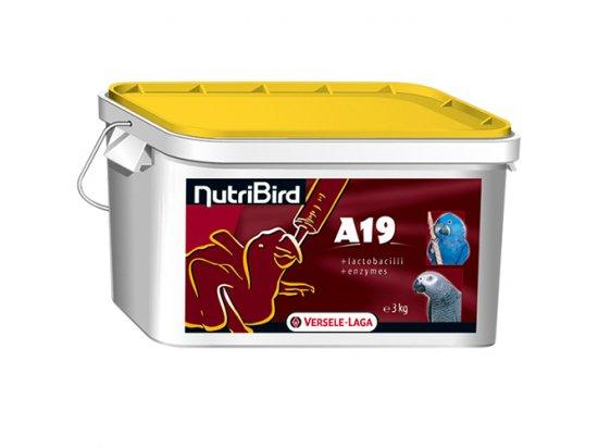 NutriBird A19 корм для ручного вскармливания крупных попугаев (for baby-birds)