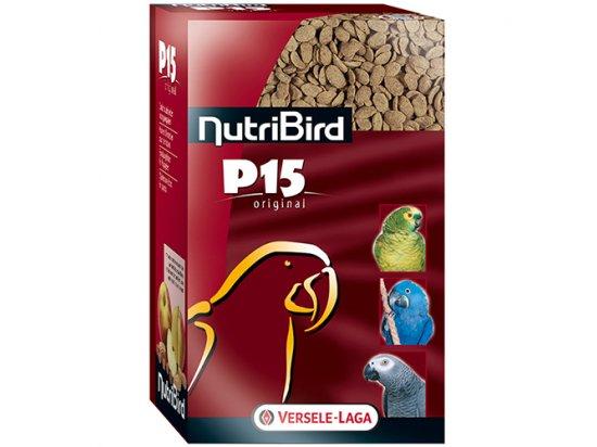 NutriBird P15 Original корм с орехами для попугаев