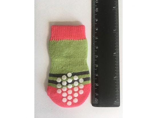 PET SOCKS носки с подошвой для собак