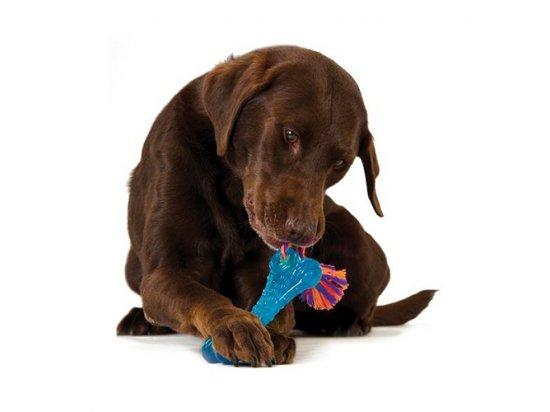 PETSTAGES Orka Bone - Орка Косточка с канатиком - игрушка для собак, длина 16 см