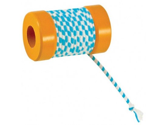 Petstages Orka Kat Catnip Infused Spool with String ЙО-ЙО игрушка для кошек и котят, длина 5 см