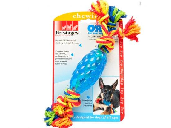 PETSTAGES Orka Pine Cone Chew Орка Шишка с канатом - игрушка для собак, 15 x 5 x 5 cм