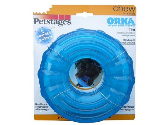 PETSTAGES Orka Tire Игрушка для собак, диаметр 15 см
