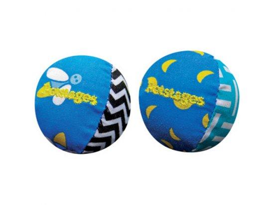 Petstages (Петстейджес) Quiet Glow Play Pair Игрушка для кошек Мяч со светоотражателями, диаметр 4 см
