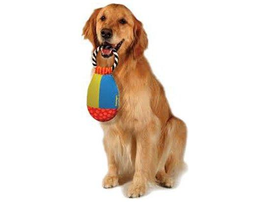 Petstages (Петстейджес) Toss & Retrieve Игрушка для собак Груша с кольцом текстильная, 30 х 13 см