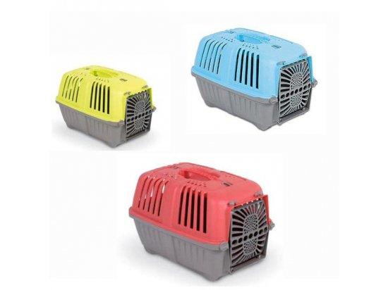 Pratiko Pet Carrier - Пластиковая переноска для кошек и собак с пластиковой дверью
