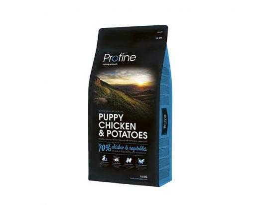 Profine (Профайн) Puppy CHICKEN & POTATOES - сухой корм для щенков и молодых собак с курицей и картофелем
