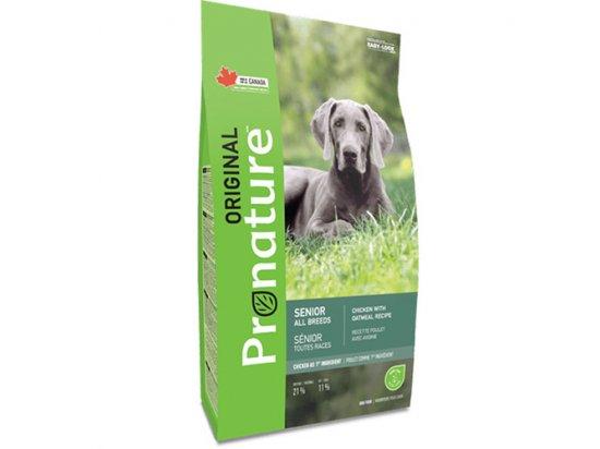 Pronature Original SENIOR CHICKEN & OATMEAL (КУРИЦА & ОВСЯНАЯ МУКА) корм для малоактивных и пожилых собак
