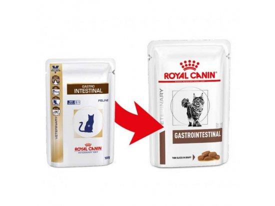 Royal Canin GASTRO INTESTINAL лечебные консервы для кошек при нарушениях пищеварения