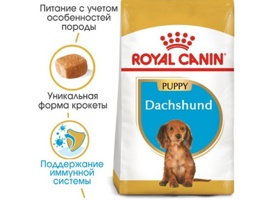 Royal Canin DACHSHUND PUPPY (ТАКСА ПАППИ) корм для щенков до 10 месяцев