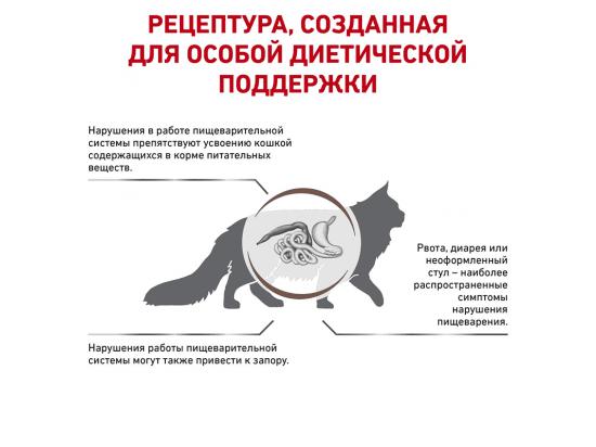 Royal Canin GASTROINTESTINAL FIBRE RESPONSE сухой лечебный корм для кошек от 1 года