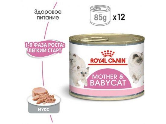 Royal Canin MOTHER & BABYCAT (БЕБИКЕТ ИНСТИНКТИВ) Влажный корм для котят с рождения до 4 месяцев