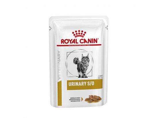 Royal Canin URINARY S/O лечебные консервы для кошек при заболеваниях мочевыводительной системы (кусочки в соусе)