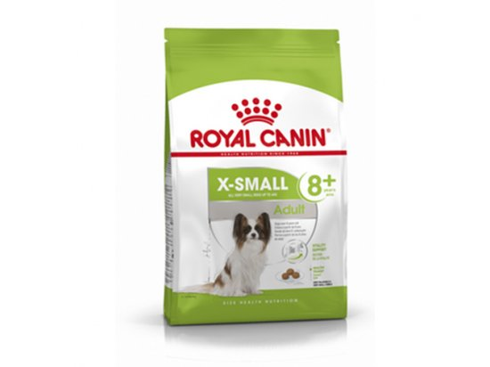 Royal Canin X-SMALL ADULT 8+ (СОБАКИ МЕЛКИХ ПОРОД ЭДАЛТ 8+) корм для собак от 8 лет
