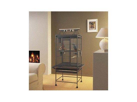 Savic Вольер для попугаев HAMILTON PLAYPEN, темно-серый, 60Х55Х158 см