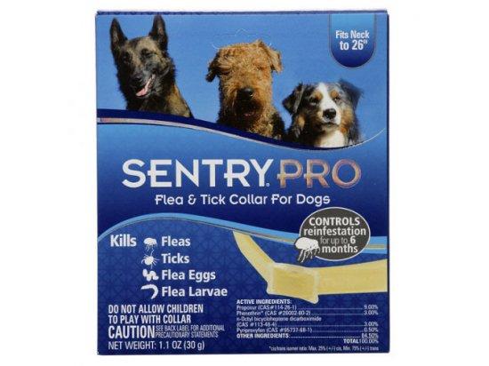 SentryPro ошейник для собак от блох, клещей, яиц и личинок блох