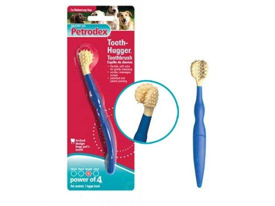 SENTRY Petrodex TOOTH-HUGGER brush - зубная щетка для собак и кошек