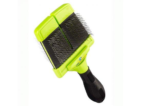 FURminator Large Firm Slicker Brush жесткая двухсторонняя щетка для средних и крупных пород (140498)