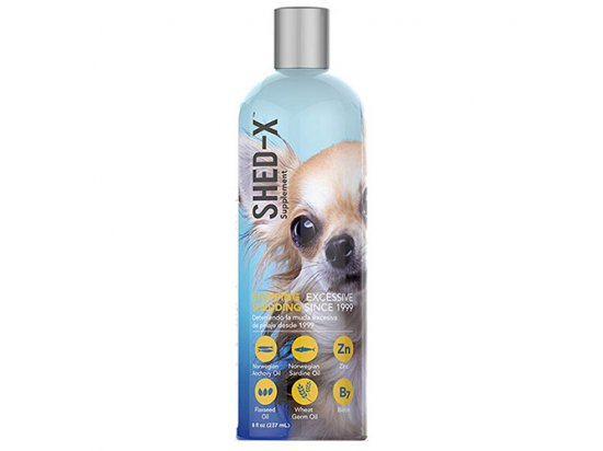SynergyLabs® Shed-X Dog ШЕД-ИКС ДОГ добавка для шерсти против линьки для собак