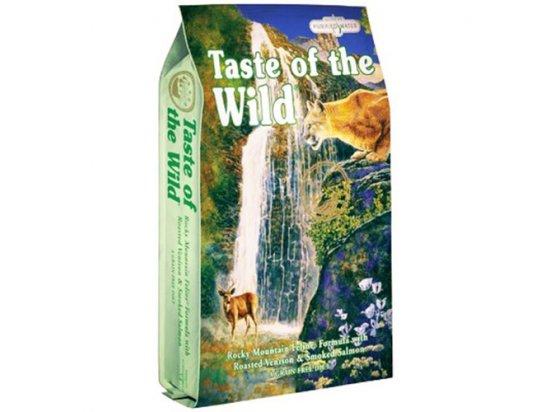 Taste of the Wild ROCKY MOUNTAIN FELINE FORMULA - корм для кошек и котят с мясом жареной оленины и копченым лососем