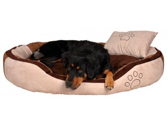 Trixie BONZO BED Спальное место для собак БЕЖ/КОРИЧНЕВЫЙ