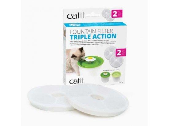 Hagen CATIT - Сменный фильтр тройного действия для питьевых фонтанов (43745)