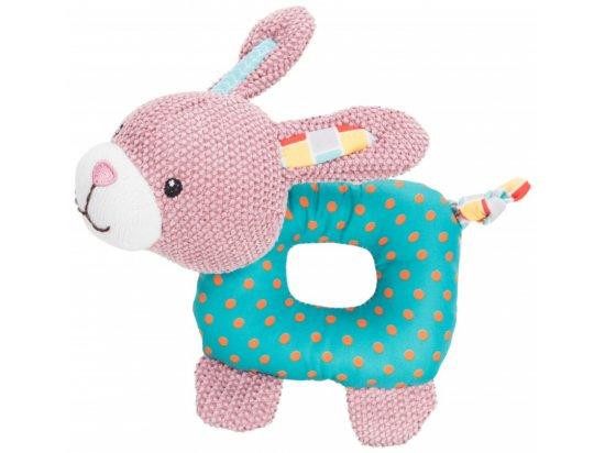 Trixie Тканевая игрушка для щенков с пищалкой КРОЛИК, 16 см (36170)