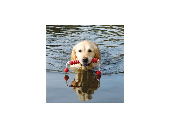 Trixie (Трикси) LONG-MOT (АПОРТ НА ВЕРЕВКЕ) плавающая игрушка для собак (3241)