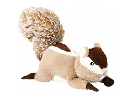 Trixie (Трикси) БЕЛКА-ПИЩАЛКА игрушка для собак, плюш (35988)