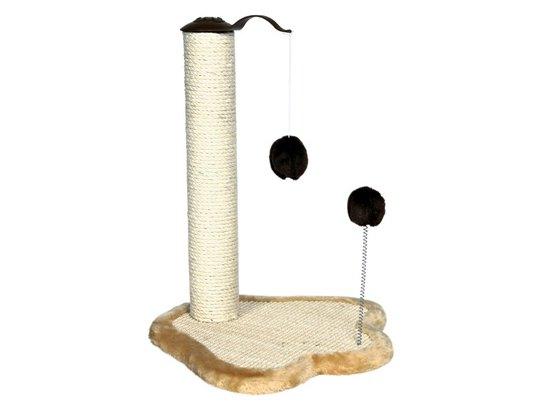 Trixie Когтеточка-столбик для кошек с игрушками (4295)