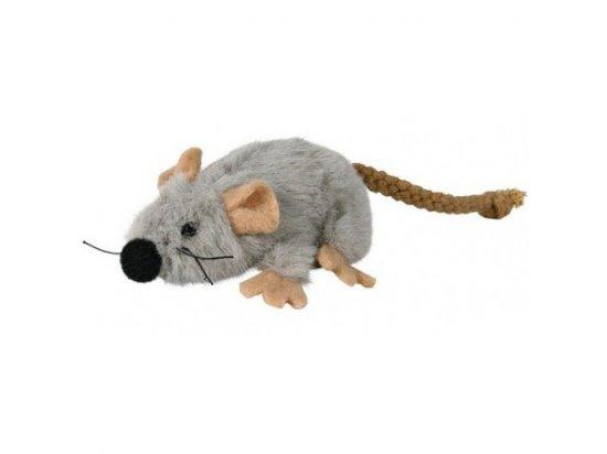 Trixie Мышь плюшевая с кошачьей мятой - игрушка для кошек (45735)