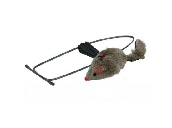 Trixie Мышь на подвесе для дверного проема - игрушка для кошек (4065)