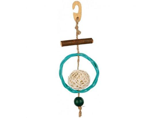 Trixie игрушка с кругом и колокольчиком для птиц (58953)